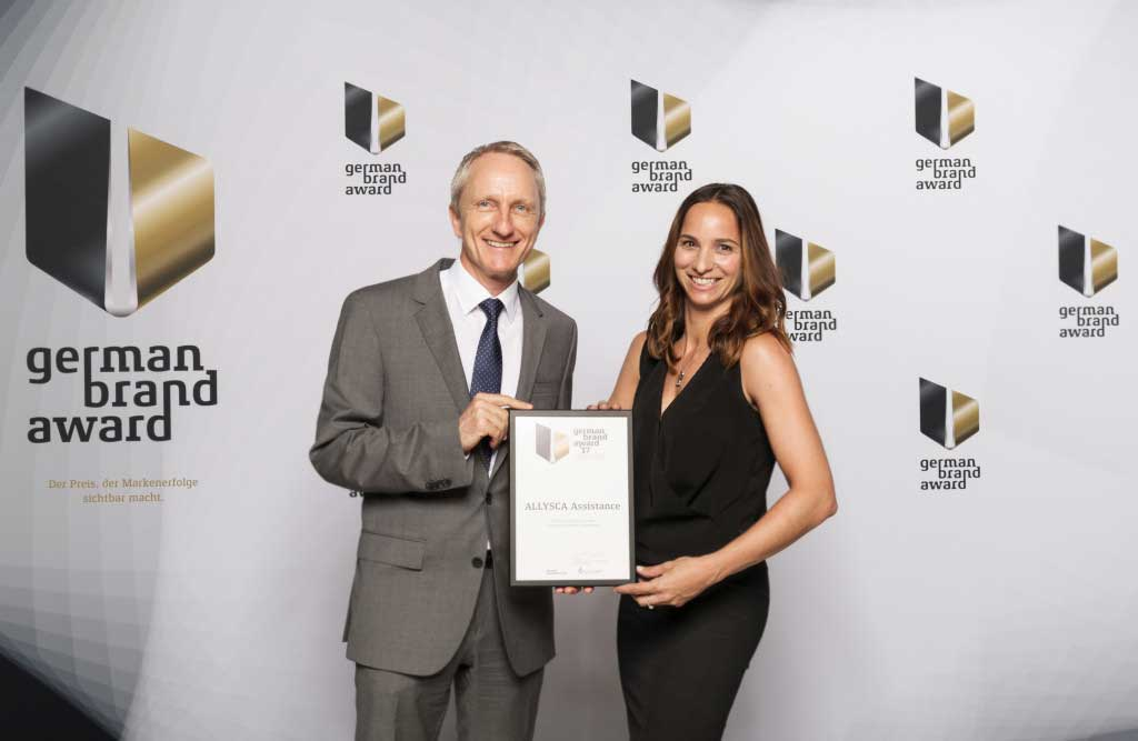 ALLYSCA receives German Brand Award 2017